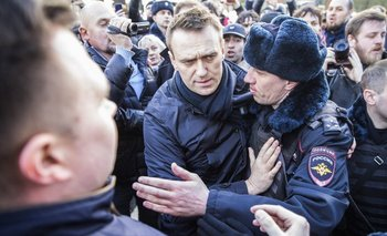 Alexéi Navalni fue multado y condenado en dos audiencias
