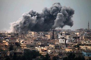 La provincia de Daraa, cuna del levantamiento contra el régimen del presidente Bashar al-Assad, en Siria