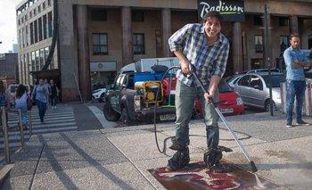 El conductor de televisión Jorge Piñeyrñua se suma a la campaña Hinchar es vivir.