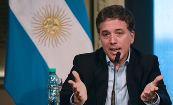 Ministro de Hacienda de Argentina, Nicolás Dujovne. <br>