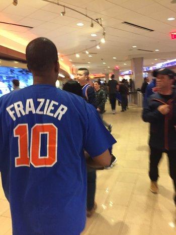 La historia está siempre presente cuando juegan los Knicks.