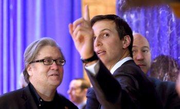 Steve Bannon y Jared Kushner