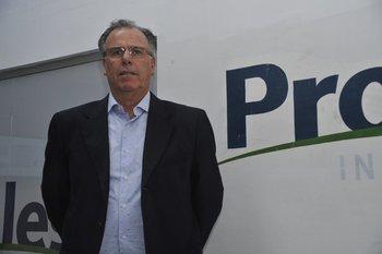 Wilson Cabrera, presidente de la Asociación Nacional de Productores de Leche (ANPL)