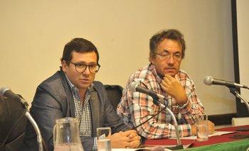 Joaquín Abelenda y Heber Viana elogiaron a una oferta especial.<br>