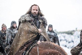 Sandor Clegane reapareció en la sexta temporada, y tendrá un rol en el desenlace de la historia de<i> Game of Thrones</i>