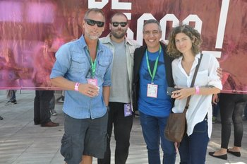 Coco Píriz, Marcelo Bonomi, Leandro Gómez y Carolina Faget
