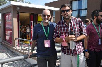 Aldo Alfaro y Gastón Garrido