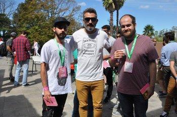 Ignacio Varela, Silvio Maldonado y Gervasio Della Ratta