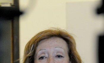 Ministra María Julia Muñoz