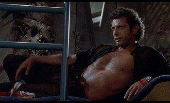 Jeff Goldblum en <i>Jurassic Park</i>.<br>