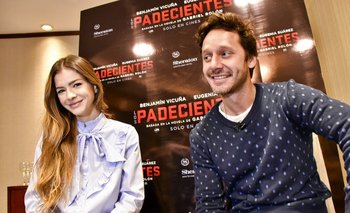 """Eugenia """"China"""" Suárez y Benjamín Vicuña"""