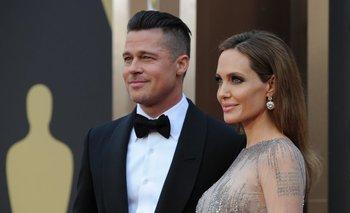 Brad Pitt y Angelina Jolie en 2014