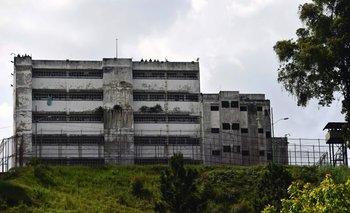 <div>La prisión de Los Teques, donde se encuentra Leopoldo López<br><br></div><div><br></div>