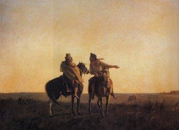 El cuadro de Blanes, Los dos caminos<br>