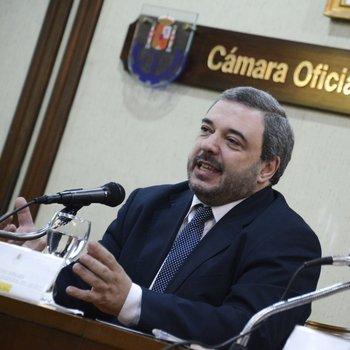Presidente del BCU, Mario Bergara.