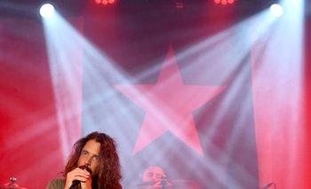 Chris Cornell durante un concierto en Los Ángeles en enero de 2017.
