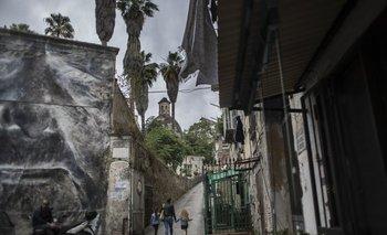 Nápoles, donde se realiza el casting para la serie basada en la obra de Elena Ferrante