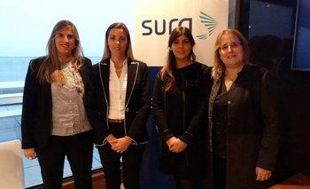 María Fernanda Soba, Inés Pampin, María Fernanda Rodriguez y Adriana Roverano