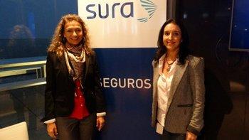 Mónica Pigatto y Adriana Vieira
