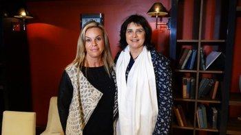 Paula Román y Alicia Chiesa