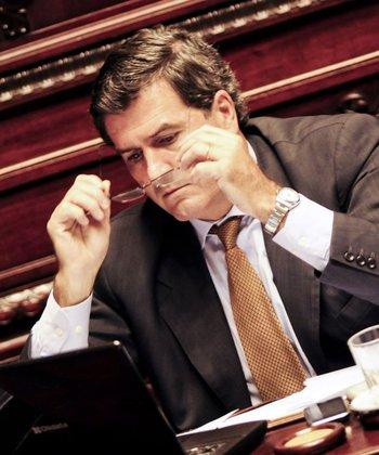 <b>Pedro Bordaberry fue uno de los legisladores más activos durante el debate</b>