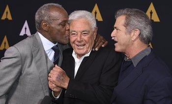 Richard Glover, Richard Donner y Mel Gibson