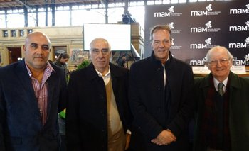 Jorge Comba, Daniel Fernández, Adrián Cabrera y Mario Menéndez <br>