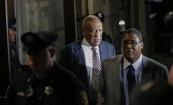 Bill Cosby en el tercer día de juicio<br>