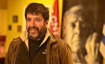 Pereira compartió un asado con viejos conocidos del sindicalismo