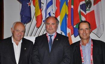 Los delegados de Uruguay fueron Luis Fernández Echeverría, Alvaro Díaz Nadal y Luis Carrau Gallinal