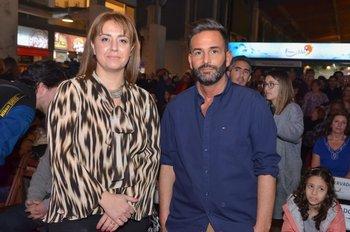 Paula Valente y Marco Calache