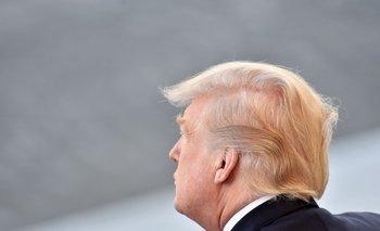 Trump, el pasado viernes en París.