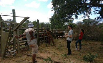 Alonsoperez viajó a Kenia y Namibia a principio de año
