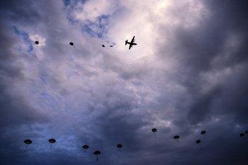 El ejército, la fuerza aérea y la marina tienen cualidades disponibles que las compañías, y el gobierno, deberían haber desarrollado ellos mismos