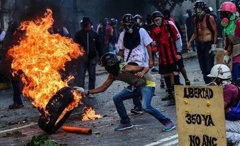 Protestas en Venezuela<br>