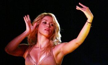 La música Shakira ha hecho de su baile una marca personal<br>