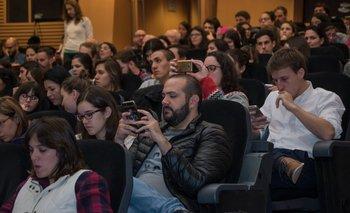 Los asistentes al encuentro utilizaron Twitter para comentar los contenidos de las charlas