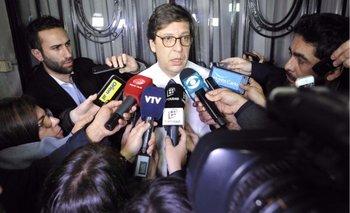 Javier Miranda, presidente del Frente Amplio
