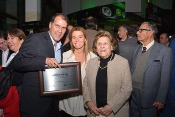 Julio Blanco, Maria de la Paz Muñoz y Raquel Vicente