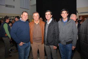 Diego Raimondo, Julio Gottero, Martin y Andres Maglia