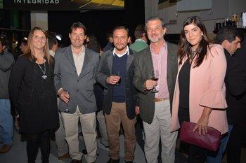 Patricia Sereno, Javier Zarich, Jorge Hourcade, Federico Dold y Patricia Prat