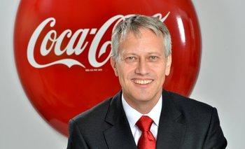 CEO de Coca-Cola, James Quincey.