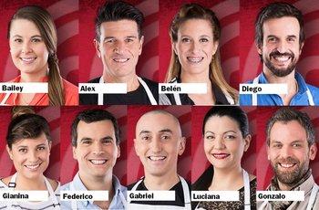Para ver los otros nueve participantes pase a la siguiente foto