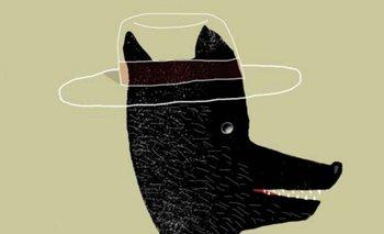 Parte de la portada de <i>Un perro sin nombre</i>