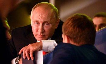 Vladimir Putin en un evento en Budapest, el pasado 28 de agosto.