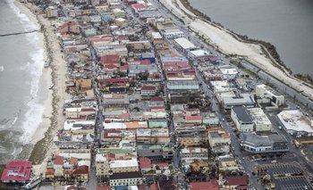 El daño de Irma en Philipsburg, St. Maarten