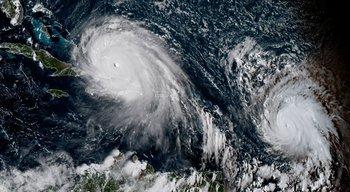 Huracán Irma junto con José