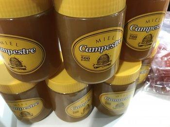 """La miel de la sociedad de apicultures con """"marca propia"""": Campestre.<br>"""