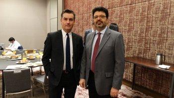 Pablo Muró y Pablo Montaldo
