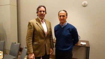 Eduardo Iguini y Andrés Dannenbaum<br>